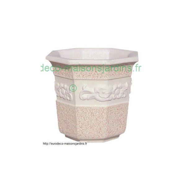 Pot de fleurs losange - grand-455