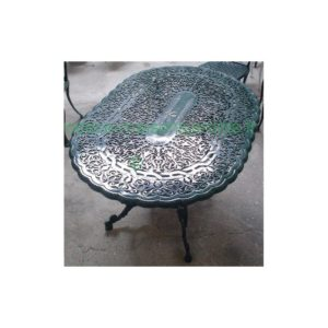 Table italienne - ovale