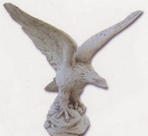 Aigle ailes ouvertes - moyen