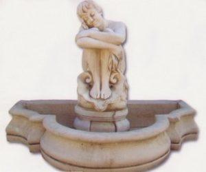 Bassin encastré - Vénus assise