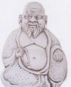 Bouddha à barbe