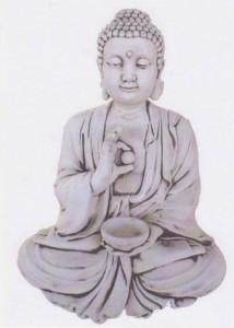 Bouddha assis - grand