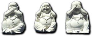 Les trois Bouddhas de la sagesse
