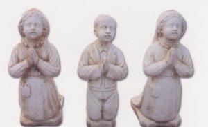 """Les trois enfants bergers de Fatima """" Yacinthe,Francis et lucie"""""""