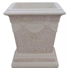 Vase carré drapé - projeté - petit