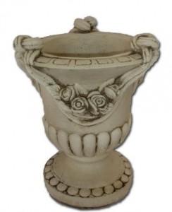 Vase drapé - rose - petit