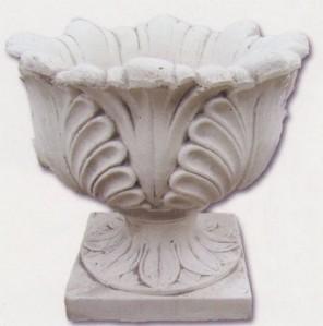 Vase feuillu