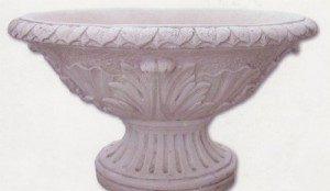 Vase ovale - grand