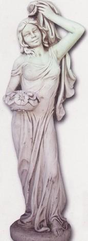 Vénus avec bouquet de fleurs