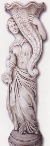 Vénus avec deux cornes d'abondance