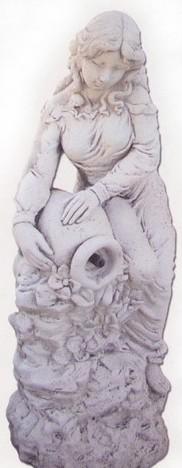 Vénus avec fleur et cruche