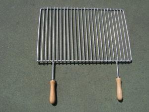 Grille à barbecue inox